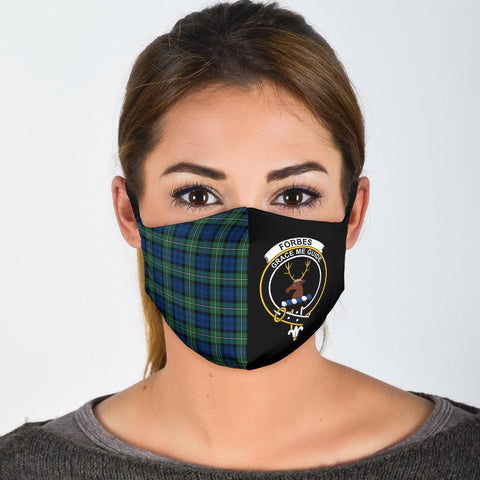 Forbes Ancient  Tartan Mouth Mask The Half