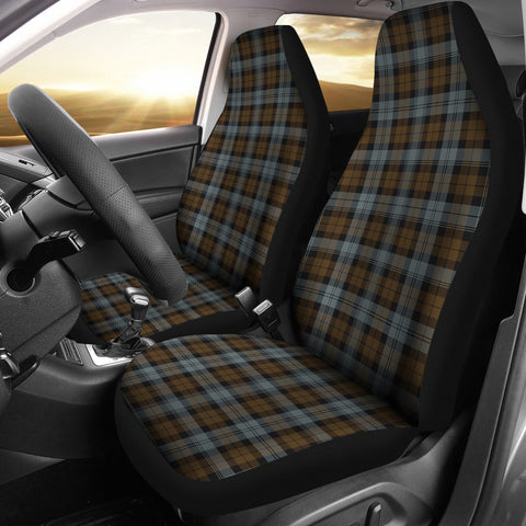 Blackwatch Weathered Tartan Car Seat Covers K7