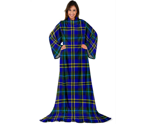 Weir Modern Tartan Clans Sleeve Blanket | scottishclans.co