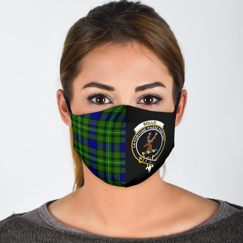 Image of Rollo Modern  Tartan Mouth Mask The Half