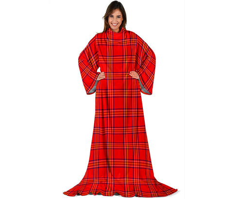 Burnett Modern Tartan Clans Sleeve Blanket | scottishclans.co
