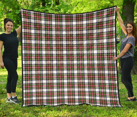 Stewart Dress Modern Tartan Premium Quilt | Scottishclans.co