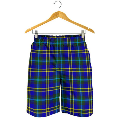 Weir Modern Tartan Shorts For Men