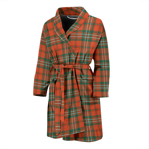 Scott Ancient Tartan Mens Bathrobe