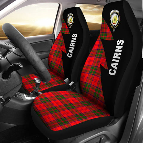 Cairns Clans Tartan Car Seat Covers - Flash Style