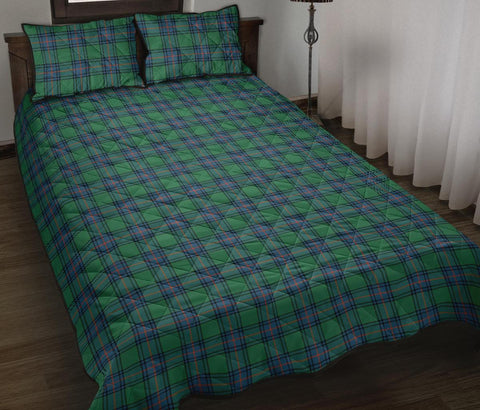Shaw Ancient Tartan Quilt Bed Set
