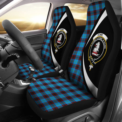 Home Ancient Tartan Clan Crest Car Seat Cover