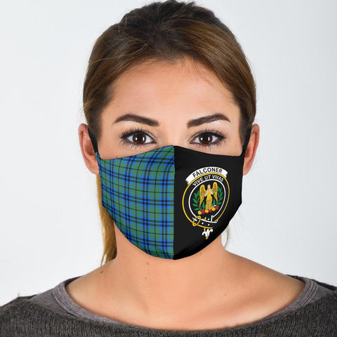 Falconer  Tartan Mouth Mask The Half