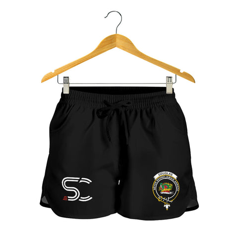 Image of Douglas Grey Modern Clan Badge Women's Shorts