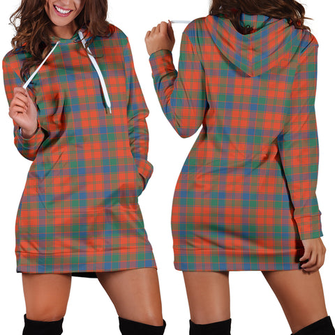 Robertson Ancient, Tartan, For Women, Hoodie Dress For Women, Scottish Tartan, Scottish Clans, Hoodie Dress, Hoodie Dress Tartan, Scotland Tartan, Scot Tartan, Merry Christmas, Cyber Monday, Black Friday, Online Shopping,Robertson Ancient Hoodie Dress