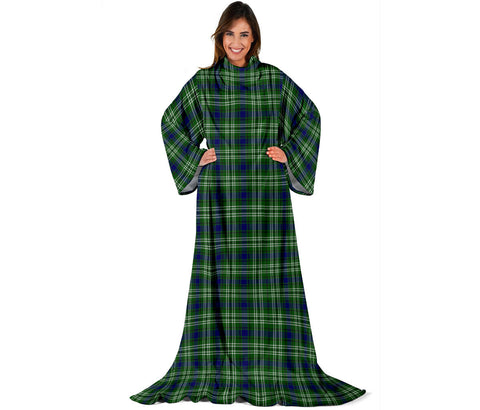 Tweedside District Tartan Clans Sleeve Blanket | scottishclans.co