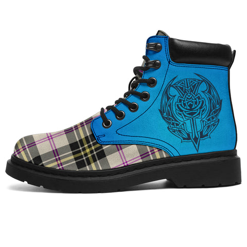 Image of Macpherson Dress Ancient Tartan All-Season Boots - Celtic Thistle | scottishclans.co