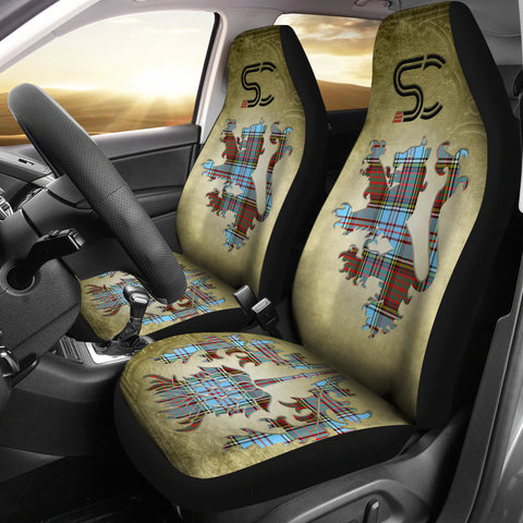 Anderson Ancient Tartan Car Seat Cover Lion and Thistle Special Style