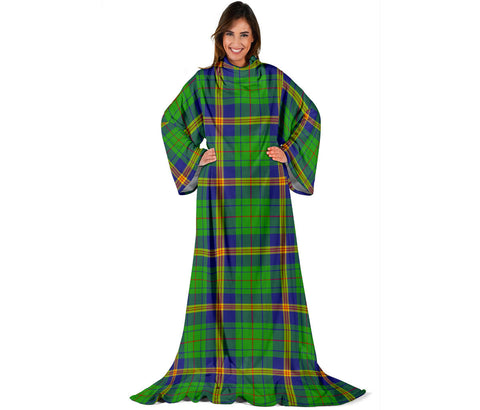 New Mexico Tartan Clans Sleeve Blanket | scottishclans.co