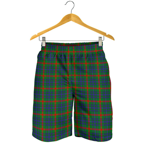 Image of Aiton Tartan Shorts For Men