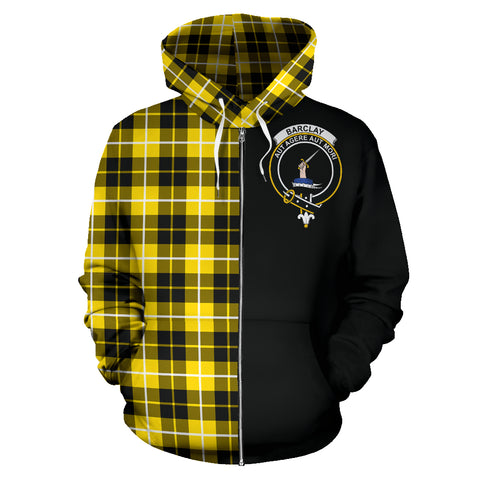 Barclay Dress Modern Tartan Hoodie Half Of Me