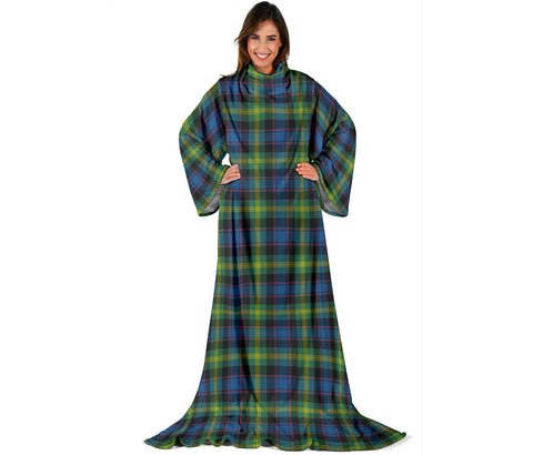Image of Watson Ancient Tartan Clans Sleeve Blanket | scottishclans.co