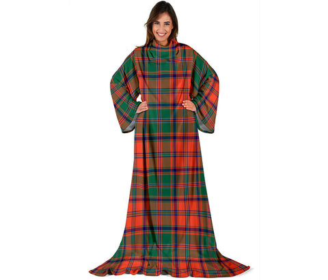 Stewart of Appin Ancient Tartan Clans Sleeve Blanket | scottishclans.co