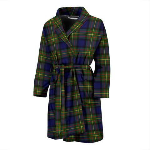Image of MacLaren Modern Tartan Mens Bathrobe