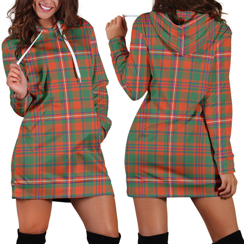 MacKinnon Ancient, Tartan, For Women, Hoodie Dress For Women, Scottish Tartan, Scottish Clans, Hoodie Dress, Hoodie Dress Tartan, Scotland Tartan, Scot Tartan, Merry Christmas, Cyber Monday, Black Friday, Online Shopping,MacKinnon Ancient Hoodie Dress