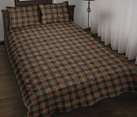 Sutherland Weathered Tartan Quilt Bed Set