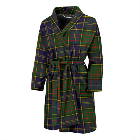 MacMillan Hunting Modern Tartan Mens Bathrobe