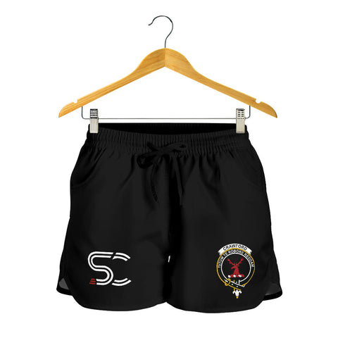 Image of Crawford Modern Clan Badge Women's Shorts