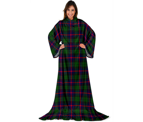 Image of Urquhart Modern Tartan Clans Sleeve Blanket | scottishclans.co