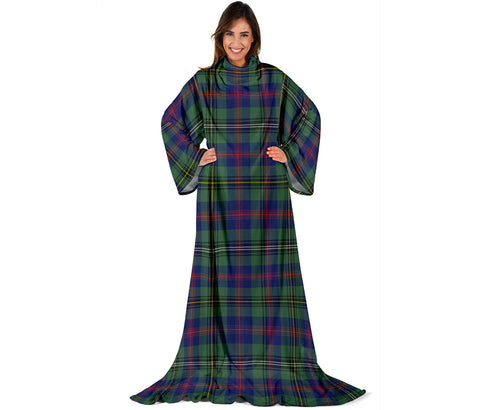 Wood Modern Tartan Clans Sleeve Blanket | scottishclans.co