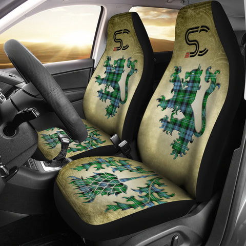 Arbuthnot Ancient Tartan Car Seat Cover Lion and Thistle Special Style