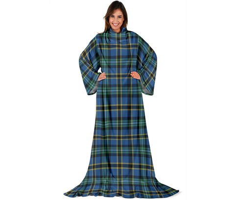Weir Ancient Tartan Clans Sleeve Blanket | scottishclans.co