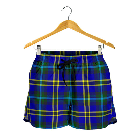Weir Modern Tartan Shorts For Women