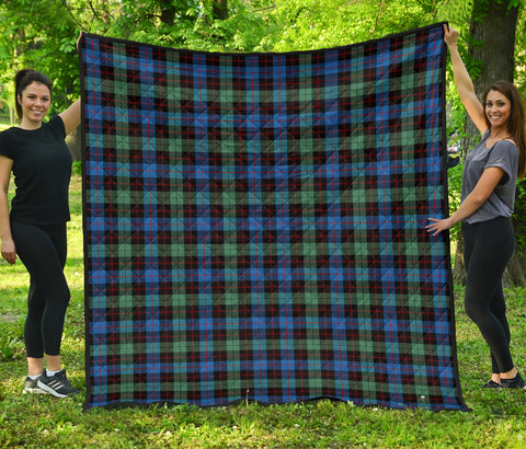 Image of Guthrie Ancient Tartan Premium Quilt | Scottishclans.co