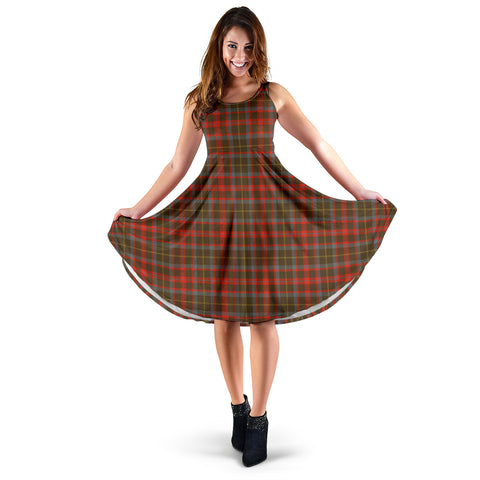 MacKintosh Hunting Weathered Tartan Women's Dress