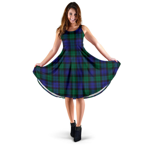 Blackwatch Modern Tartan Women's Dress