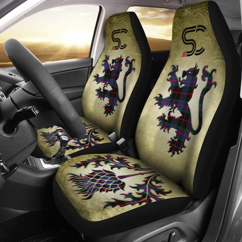 Nairn Tartan Car Seat Cover Lion and Thistle Special Style