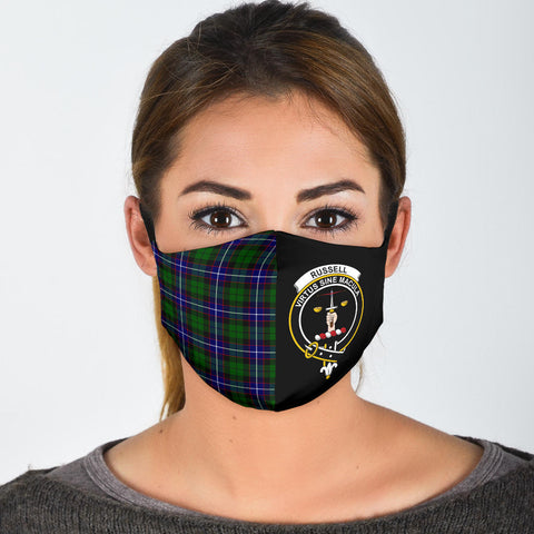 Image of Russell Modern  Tartan Mouth Mask The Half