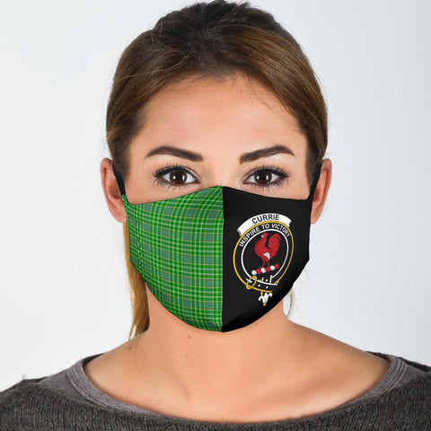 Currie  Tartan Mouth Mask The Half