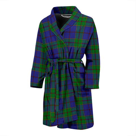 Strachan Tartan Mens Bathrobe