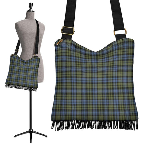 Campbell Faded Tartan Boho Handbag | scottishclans.co