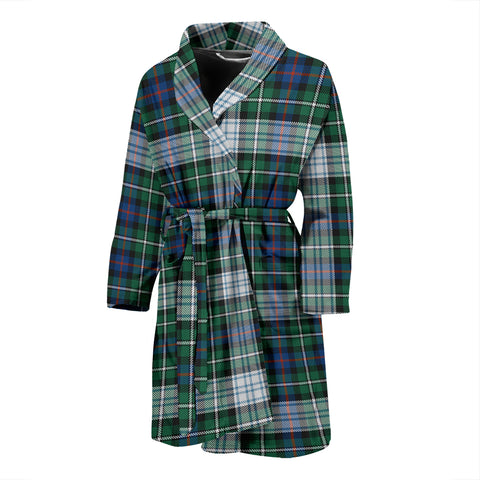 MacKenzie Dress Ancient Tartan Mens Bathrobe