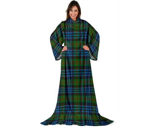 Newlands of Lauriston Tartan Clans Sleeve Blanket | scottishclans.co