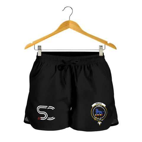 Bruce Ancient Clan Badge Women's Shorts