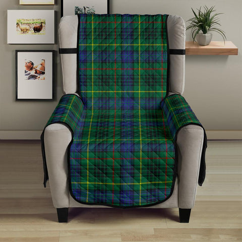 Image of Stewart Hunting Modern  Tartan Chair Sofa Protector