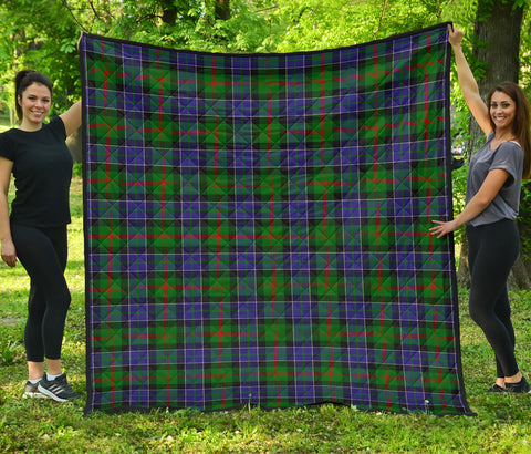 Paterson Tartan Premium Quilt | Scottishclans.co