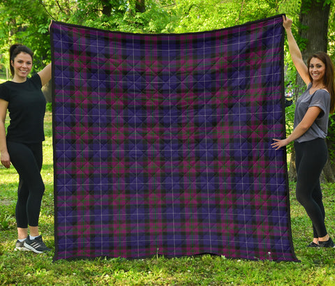 Pride of Scotland Tartan Premium Quilt | Scottishclans.co
