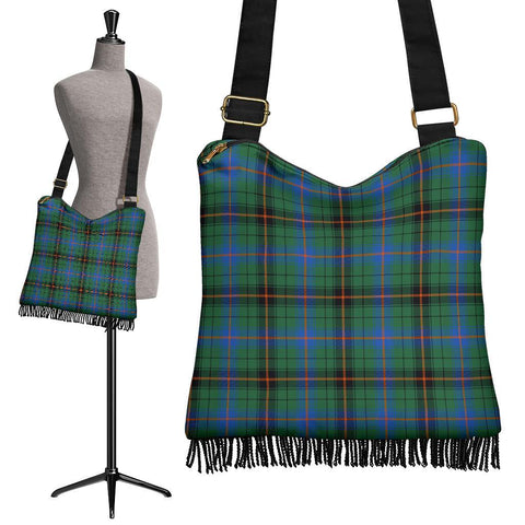 Davidson Ancient Tartan Boho Handbag | scottishclans.co