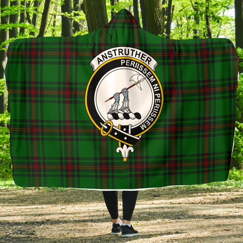 Anstruther Clans Tartan Hooded Blanket