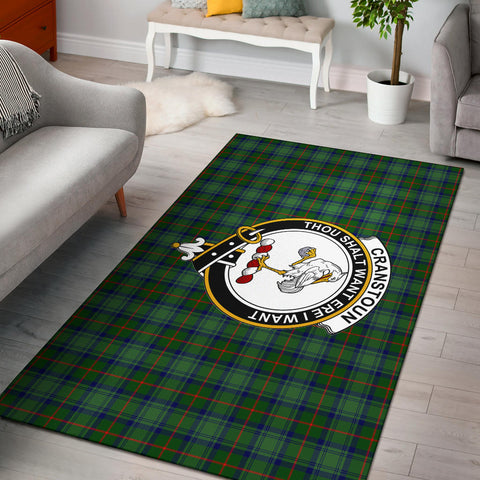 Image of Cranstoun Clan Tartan Area Rug