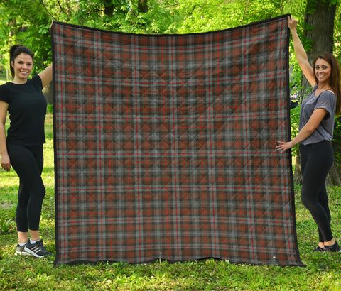 Murray of Atholl Weathered Tartan Premium Quilt | Scottishclans.co